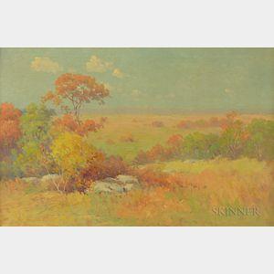 American School, 19th/20th Century      Autumn Landscape