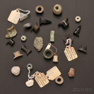 Collection of Pre-Columbian Stone Ornaments