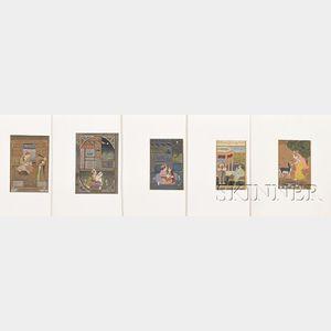 Eleven Miniature Paintings