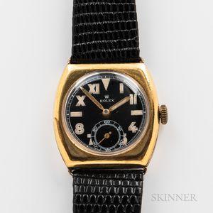 "Rolex Gold-filled ""California Dial"" Wristwatch"