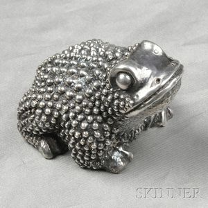 Sterling Silver Toad