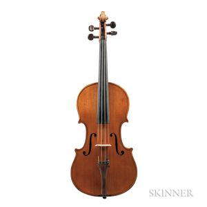 German Violin, Wolff Bros., Kreuznach, 1887
