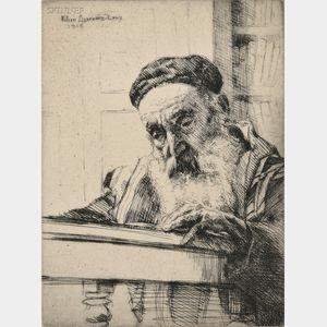 William Auerbach Levy (Russian/American, 1889-1964)      Torah