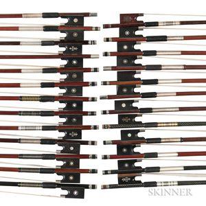 Twenty-five Violin Bows