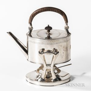 Bailey, Banks & Biddle Sterling Silver Kettle-on-Stand