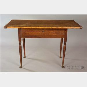 Queen Anne Maple and Pine Tavern Table