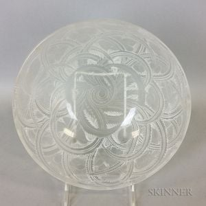 "Lalique ""Pinsons"" Glass Bowl"