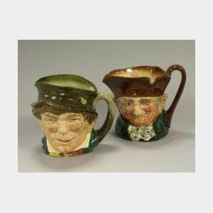 Two Royal Doulton Ceramic Toby Jugs