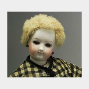 Early Bisque Swivel-Neck French Lady Doll