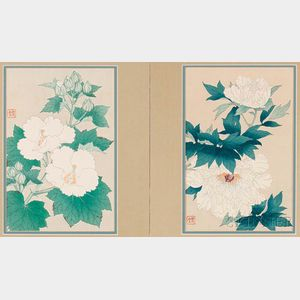 Two Kawarazaki Shodo (1889-1973) Woodblock Prints