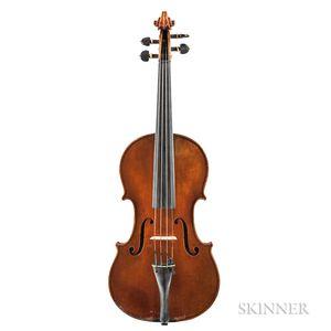 Swiss Violin, J. Emile Züst, Zurich, 1916