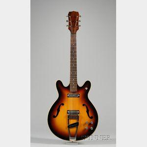 American Electric Guitar, Danelectro Corporation, Neptune, c. 1968