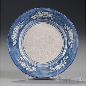 Dedham Pottery Turtle Plate