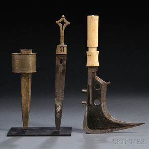 Two African Knives