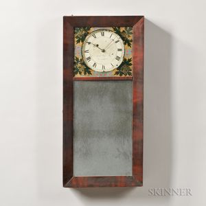 Benjamin Morrill New Hampshire Mirror Clock