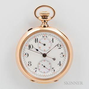 18kt Gold Split-second Chronograph
