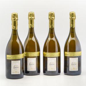 Pommery Cuvee Louise 1998, 4 bottles