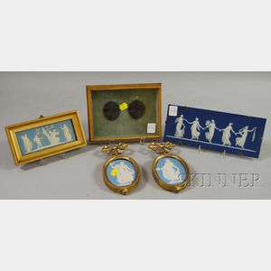 Six Assorted Wedgwood Ceramic Medallions and Plaques