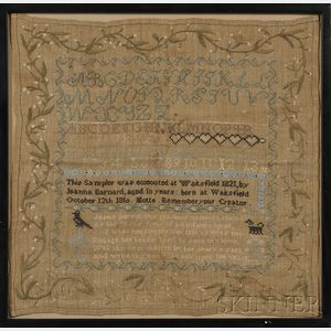 Vermont Needlework Sampler