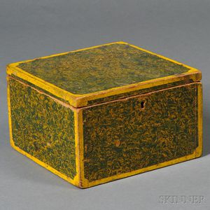 Paint-decorated Document Box
