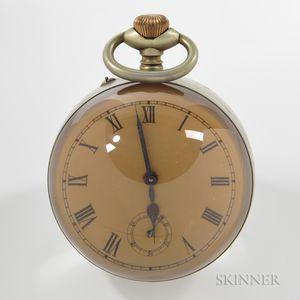 4-inch Paperweight Ball Clock