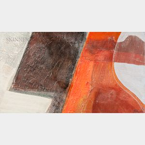 Ronald Wesley Hayes (American, 1935-2017)      Maine Textures I