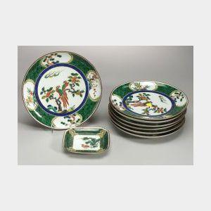 Eight Porcelain Plates
