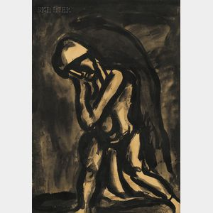 Georges Rouault (French, 1871-1958)      Hiver lèpre de la terre