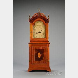 Mahogany 'David Wood' Shelf Clock by Foster Campos