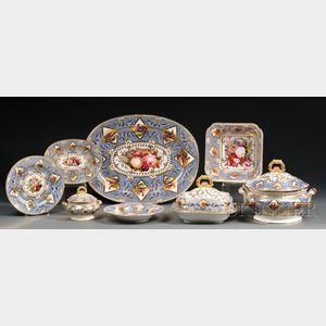 Extensive Chamberlain's Worcester Regent China Dinner Service