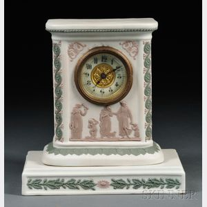 Wedgwood Three-color Jasper Clock
