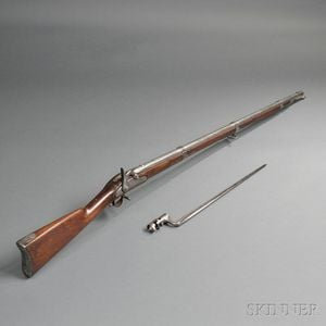 Model 1861 Percussion Rifle-musket with Bayonet