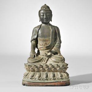 Bronze Figure of Shakyamuni