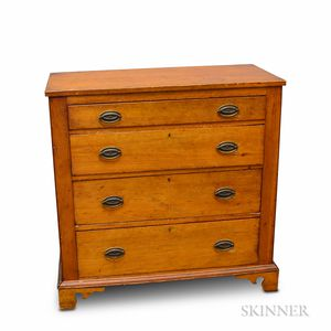 Country Pine Chest of Drawers