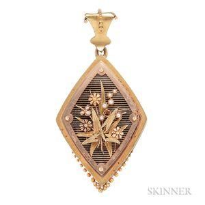 Victorian Gold Pendant