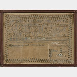 Woodbury, Vermont, Needlework Sampler