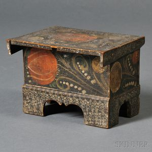 Floral-decorated Decorated Puzzle Box