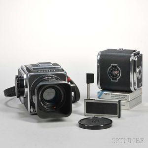 Hasselblad 500 C/M Camera Body and Lens