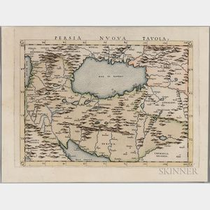 Persia. Girolamo Ruscelli (1604-1566) Persia Nuova Tavola.