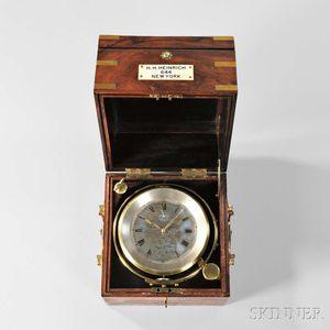 H.H. Heinrich Eight-day Marine Chronometer