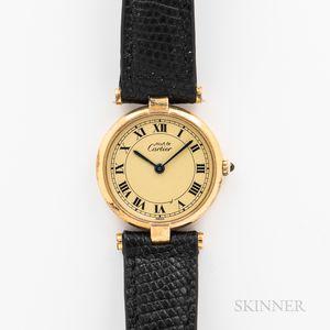 """Cartier """"Must de"""" Lady's Wristwatch"""