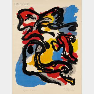 Karel Appel (Dutch, 1921-2006)      Composition
