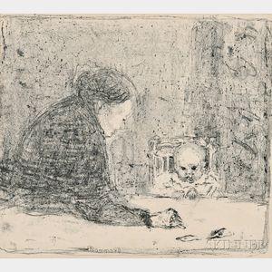 Pierre Bonnard (French, 1867-1947)      La grand-mère
