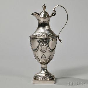 George III Sterling Silver Ewer