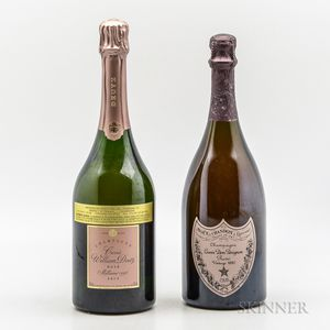 Mixed Vintage Rose Champagne, 2 bottles