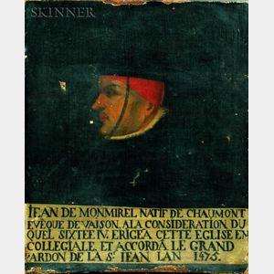 Continental School, 15th Century Style    Jean de Monmirel...