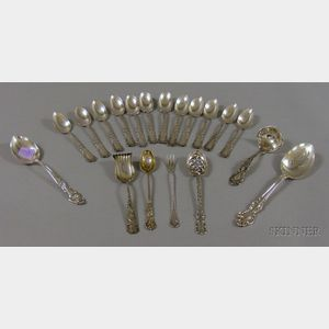 Group of Sterling Flatware Items