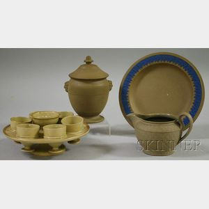 Four Assorted Drabware Items