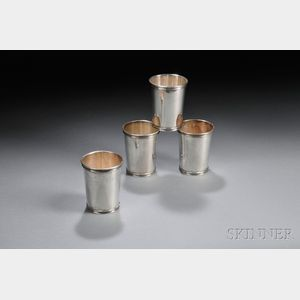 Set of Four International Sterling Silver Juleps
