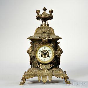 French Renaissance Revival Mantel Clock